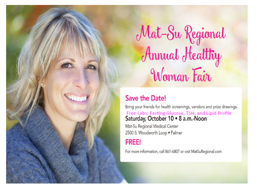 Mat-Su Regional Annual Healthy Woman Fair
